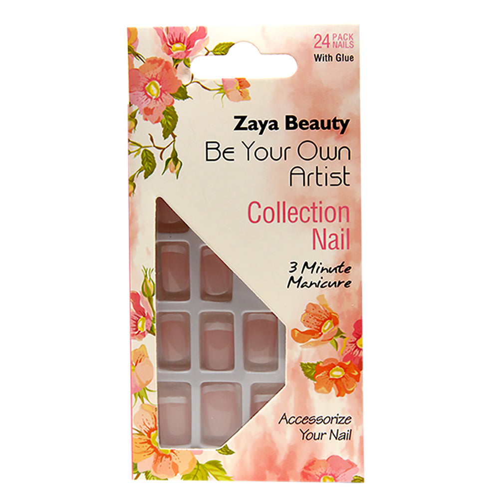 Plain French Nail ZBNAIL001