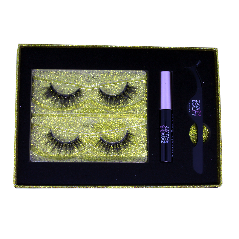 Zaya Beauty Magnetic Eyelashes & Eyeliner (Dramatic) - ZAYA BEAUTY