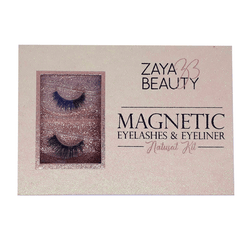 Zaya Beauty Magnetic Eyelashes & Eyeliner (Natural)