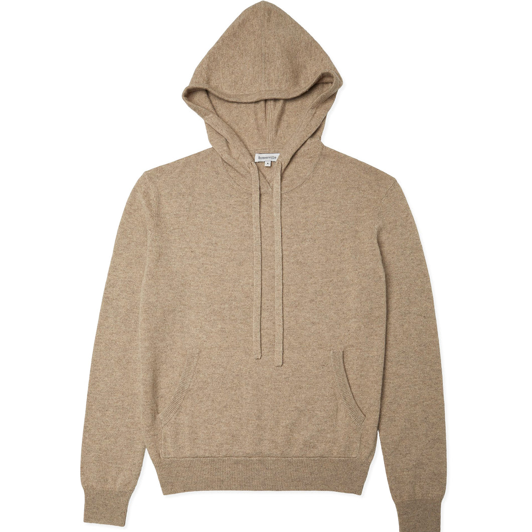 Cashmere Hoodie - Camel