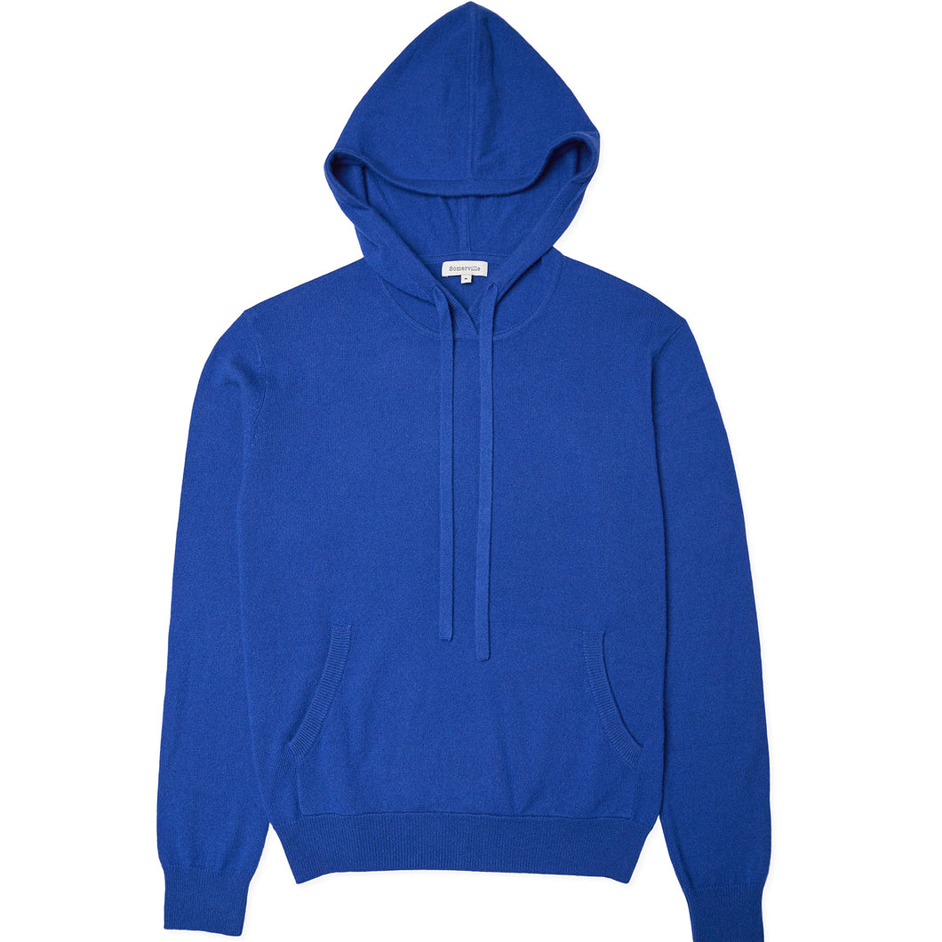 Cashmere Hoodie - Blue