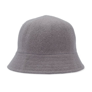 Cashmere/Wool Mix Knit Bucket Hat - Lilac