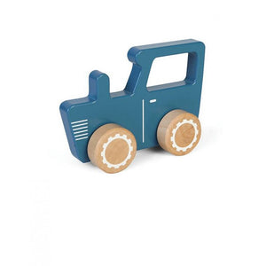 LITTLE DUTCH WOODEN TOY - BLUE TRACTOR