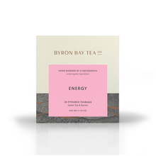 Load image into Gallery viewer, Byron Bay Tea Co - Energy Teabag Box