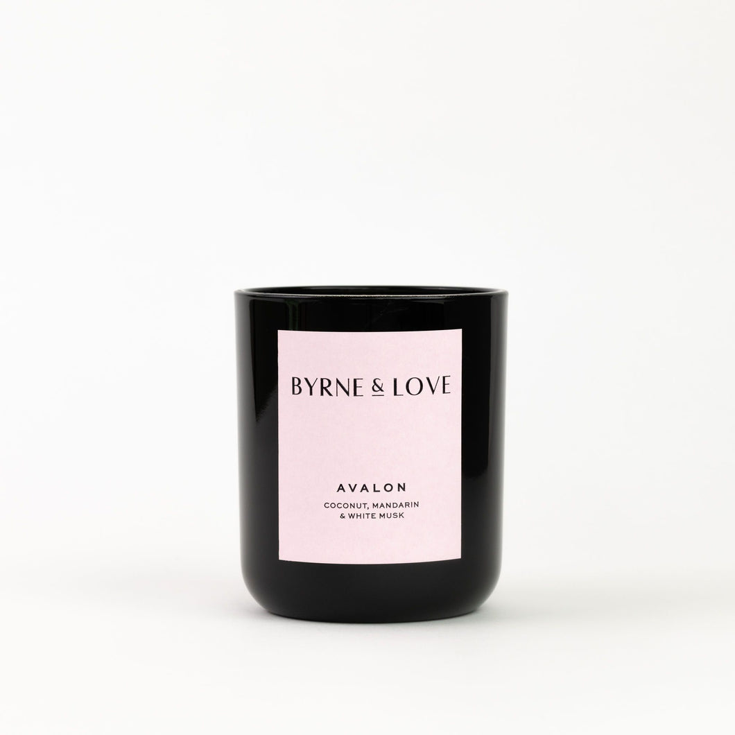 Byrne & Love - Luxury Soy Candle - Avalon