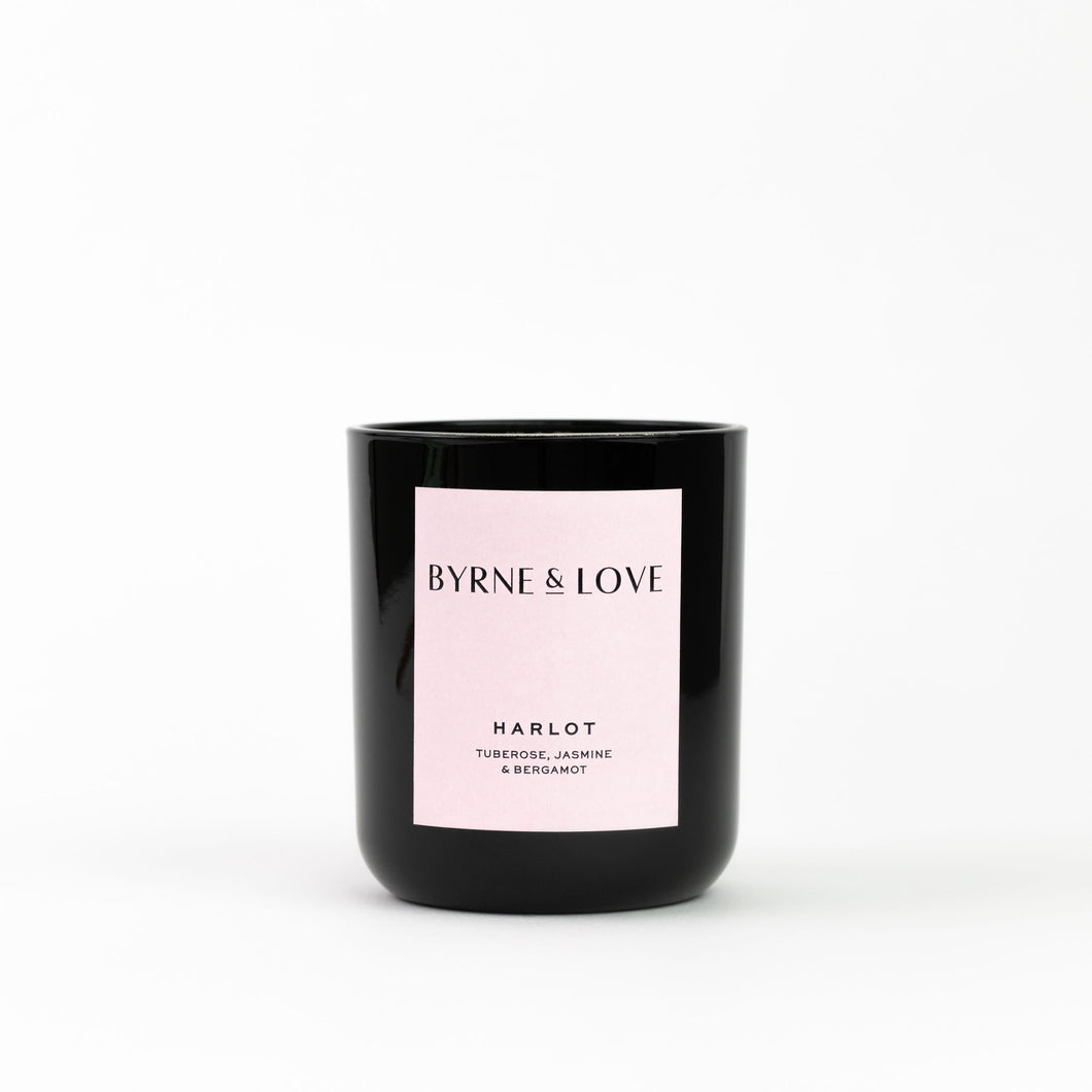 Byrne & Love - Luxury Soy Candle - Harlot