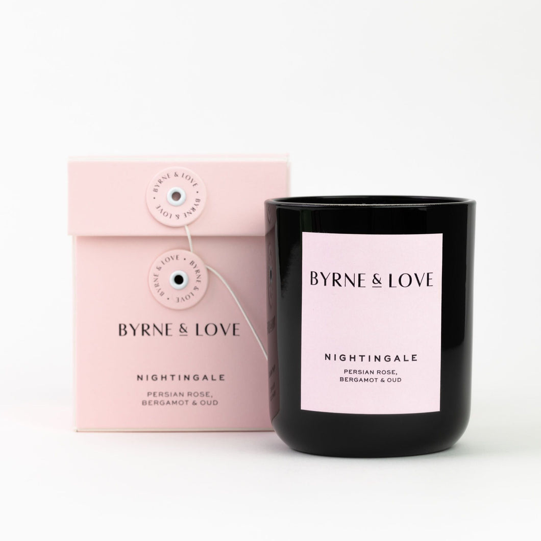 Byrne & Love - Luxury Soy Candle - Nightingale