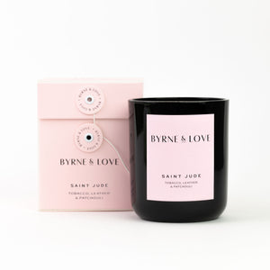 Byrne & Love - Luxury Soy Candle - Saint Jude