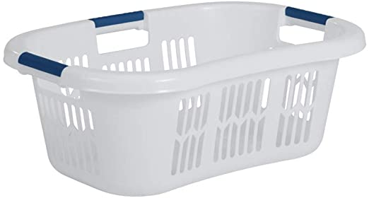 RubberMaid 1.5 Bu. Large Hip-Hugger™ Laundry Basket