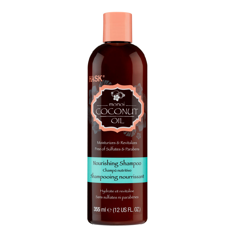 Hask Monoi Coconut Oil Nourishing Shampoo 12 Oz