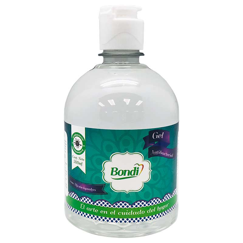 Gel Antibacterial Bondi 500ml