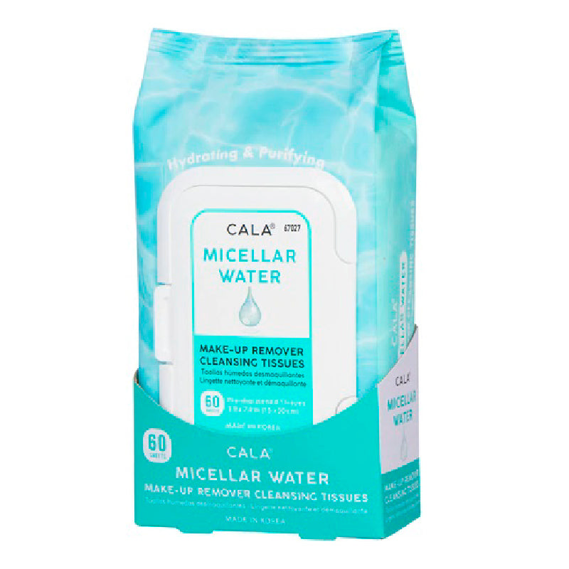 Micellar Water Make-Up Remover Cleansing Tissues (60 Sheets/Pk)