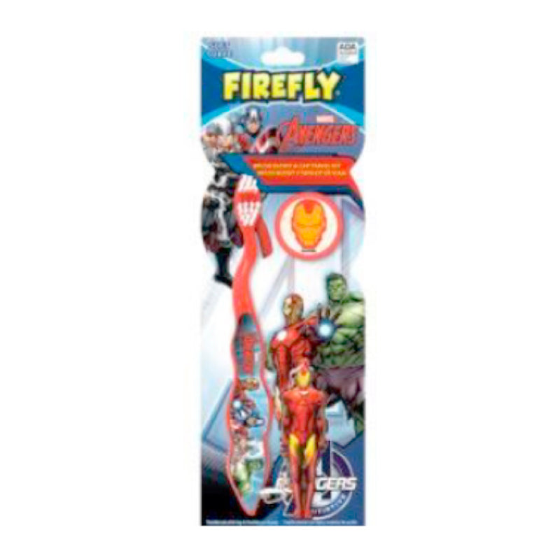 Avengers Ziggly Toothbrush W/Round Cap W/Figure