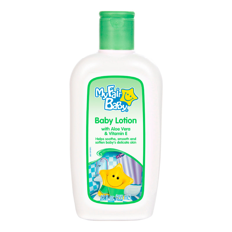 Baby Lotion con Aloe Vera & Vitamina E 12 Oz