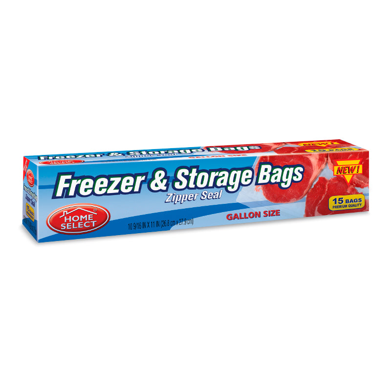 Bolsas Freezer Cierre Zipper Paq. 15 Galon