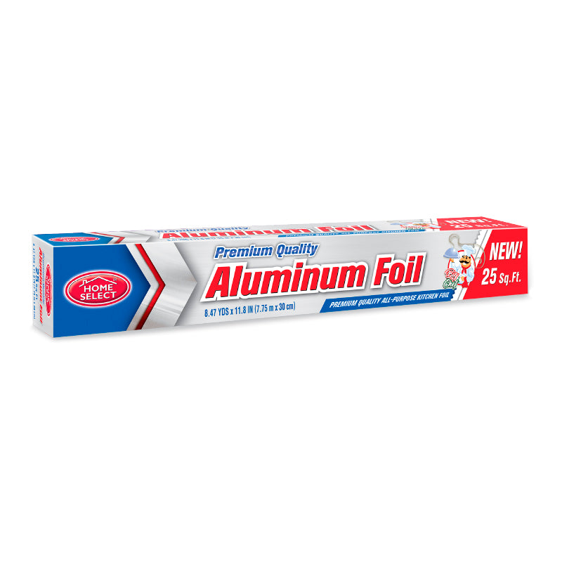 Aluminum Foil 25 Sq. Ft.