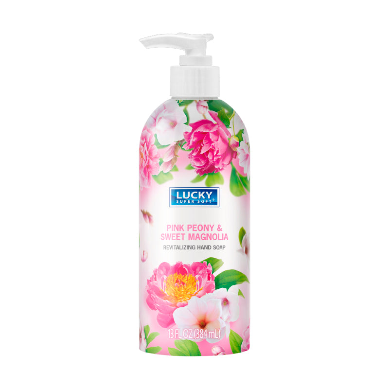 Lucky Super Soft Pink Peony & Sweet Magnolia Revitalizing Hand Soap