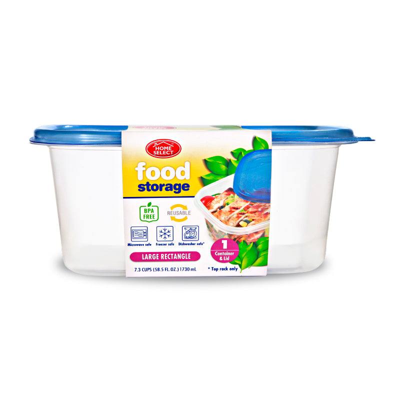 Food Storage 7.3Cups - Large Rectangle