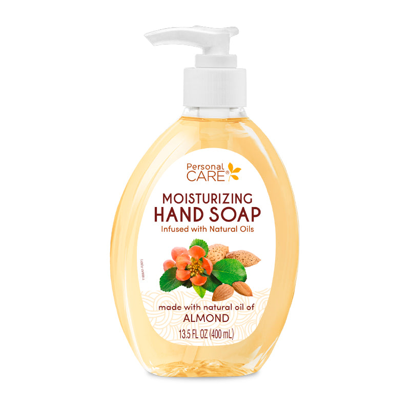 Personal Care Moisturizing Hand Soap with Almond 13.5 fl oz