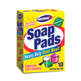 Soap Pads - Steel Wool Soap Pads - 12/10 Ct