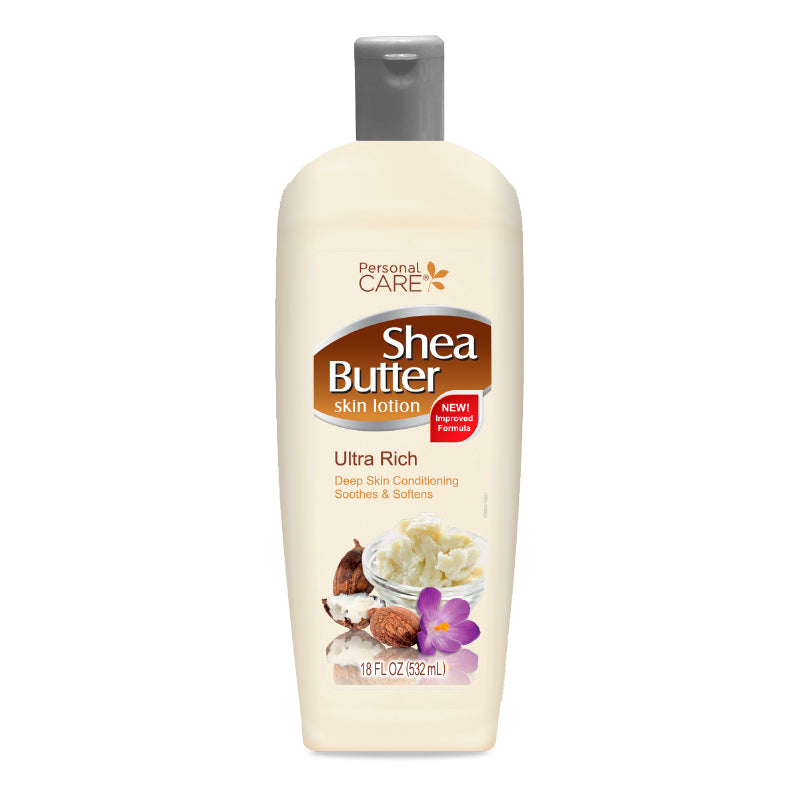 Personal Care Shea Butter Skin Lotion 18Oz