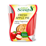 Fresh Apple Pie Scented Candle 3Oz