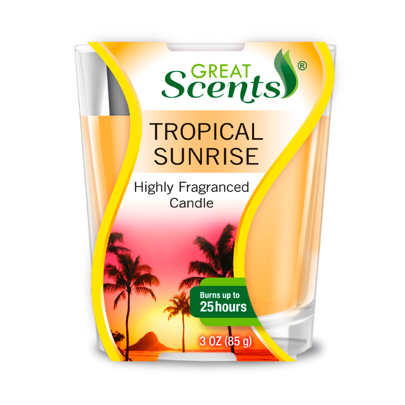 Tropical Sunrise Scented Candle 3Oz