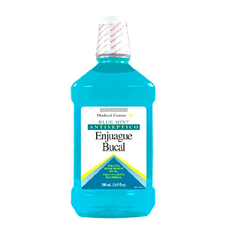 Antiséptico Blue Mint 500 Ml