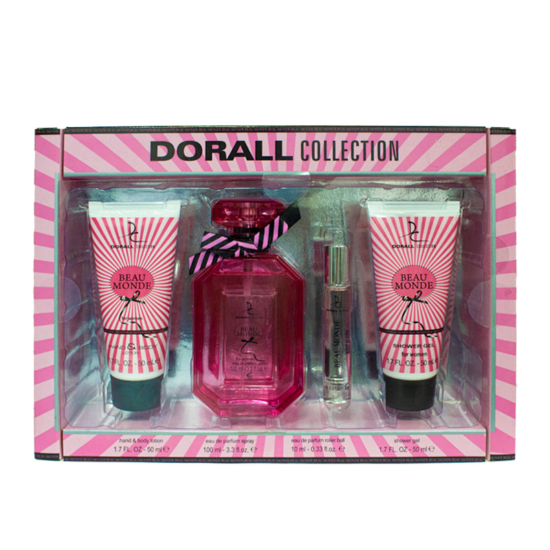 Dorall Collection BEAU MONDE 4 PC GIFT SET (Mujeres)