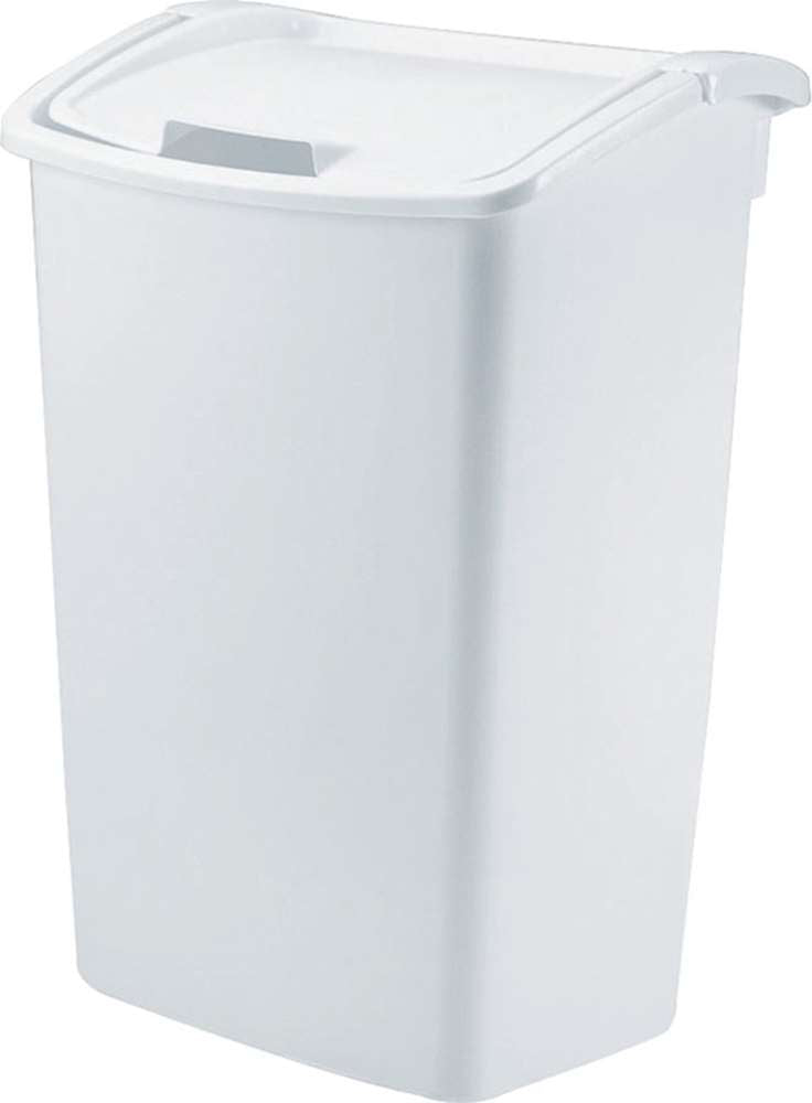 RubberMaid 45 Qt. Dual Action Wastebasket