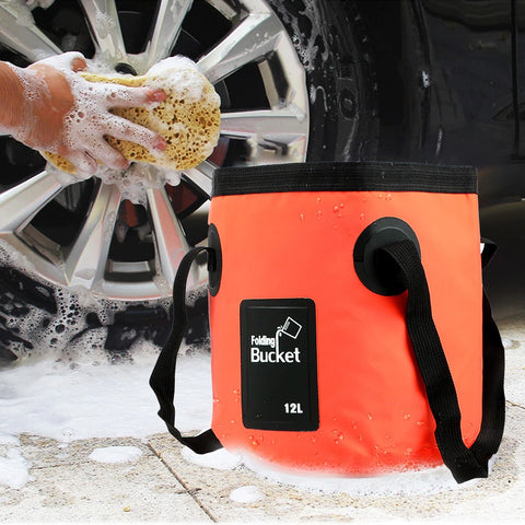 This Collapsible bucket is ideal for camping, fishing, traveling, boating, hiking, gardening, picnic, outdoor activities, daily use, and car washing.