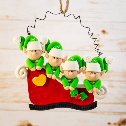 Elf Family of 4