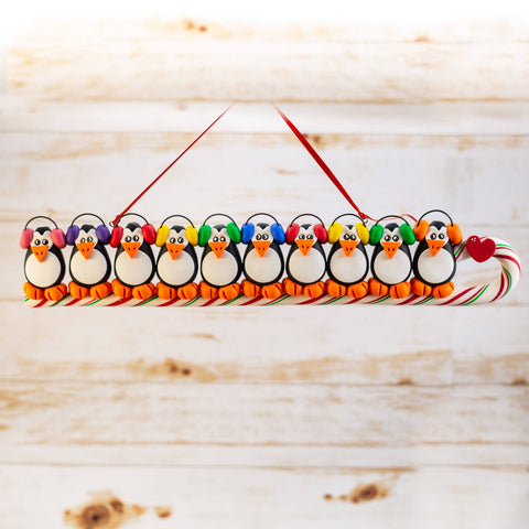 Penguin Family of 10