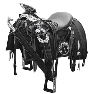 Stingray Leather Mexican Horse Saddle