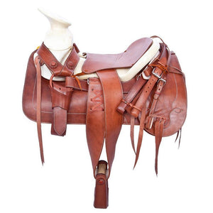 Brown Mexican Horse Saddle