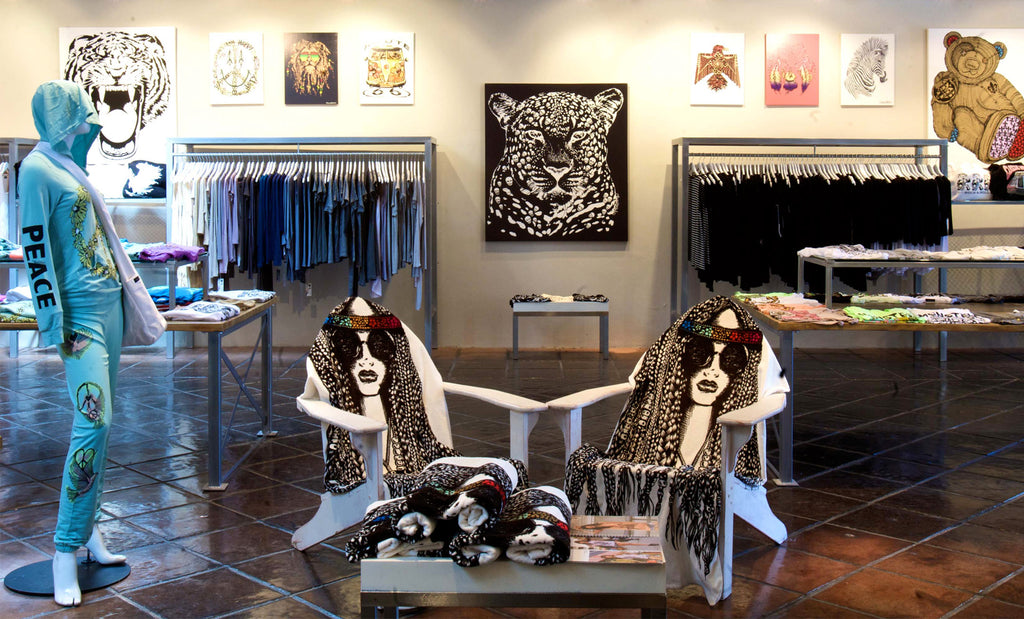 Lauren Moshi Flagship Store Los Angeles, CA | Interior Shot 1
