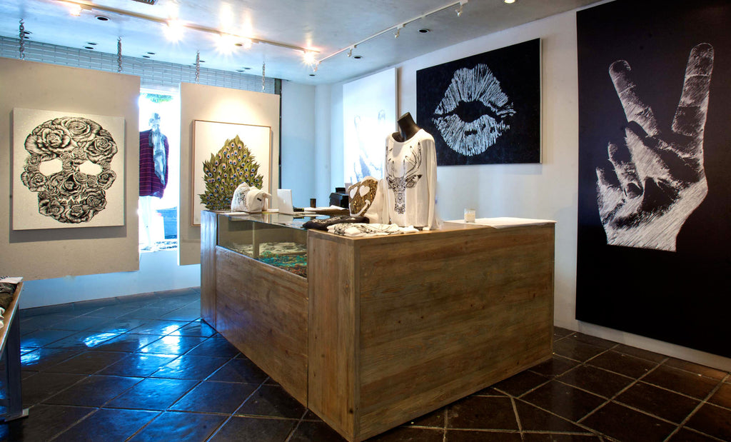 Lauren Moshi Flagship Store Los Angeles, CA | Interior Shot 2