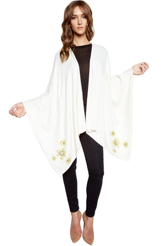 Jojo Mini Sunflower Butterfly Blanket Wrap - Lauren Moshi