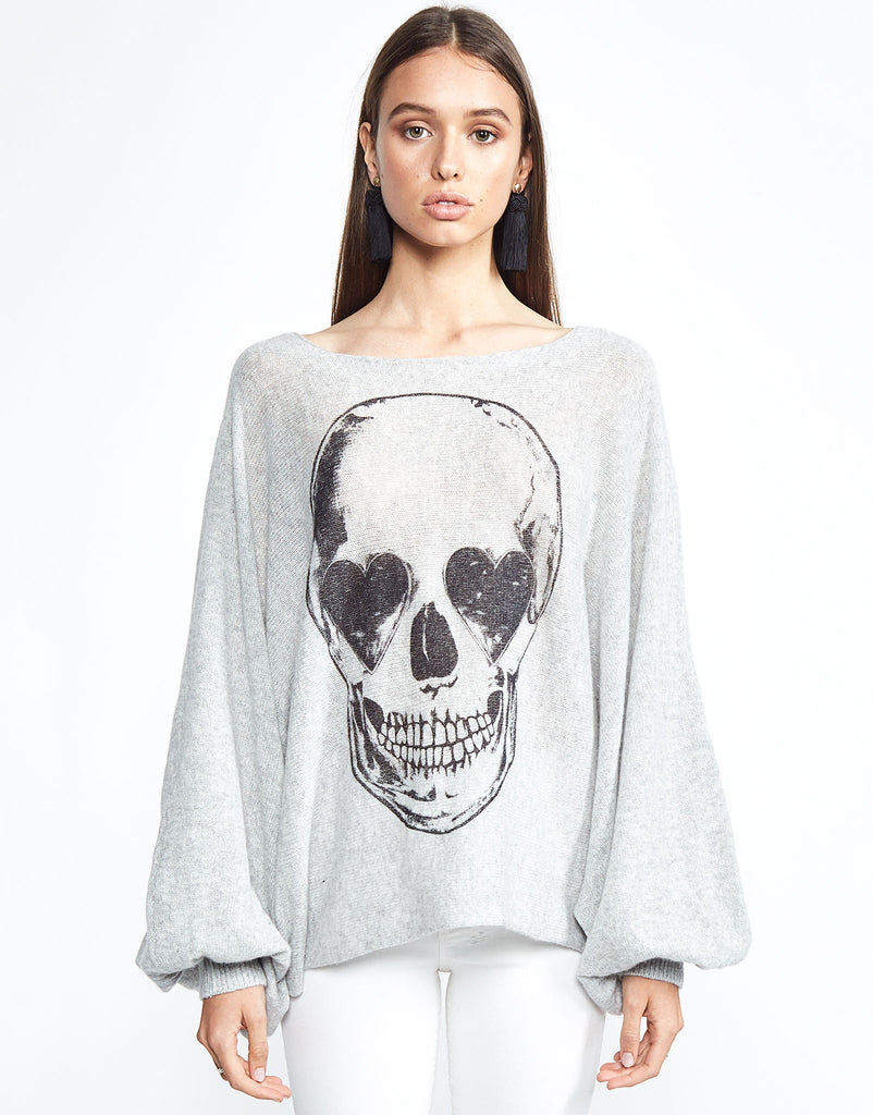 Sash Heart Eye Skull