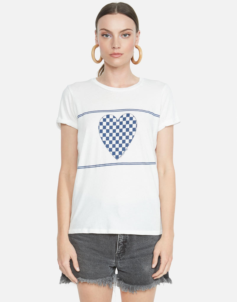 Edda Checkered Heart