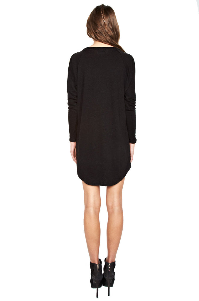 Jessia Star Eye Skull L/S Open Shoulder Dress - Lauren Moshi - 3