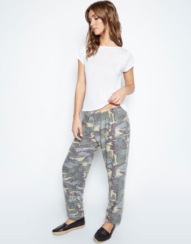 Lauren Moshi Women's Tanzy Allover Music Notes Long Pant