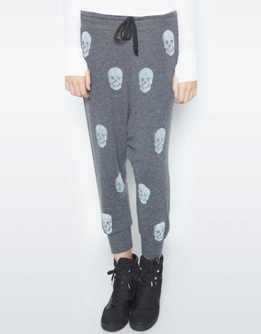 Vita Color Geisha Girl Leg w/Text Drop Crotch Pant