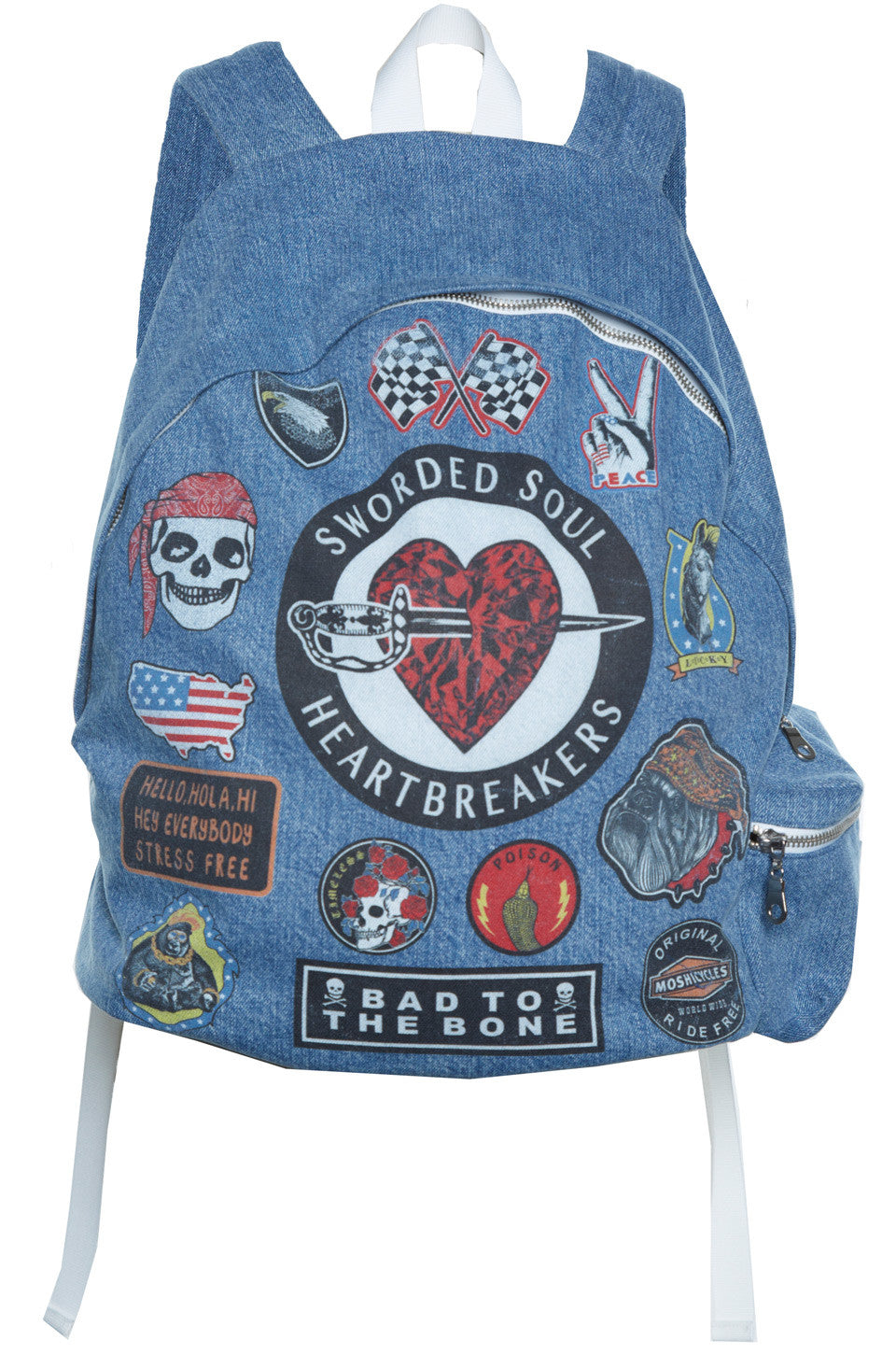 Quincy Heart Breaker Backpack - Lauren Moshi - 2