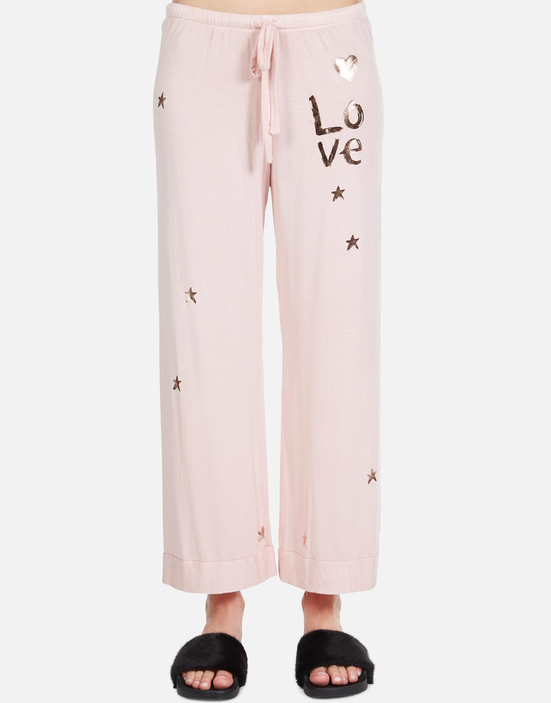 Brushed Love Stars PJ Set