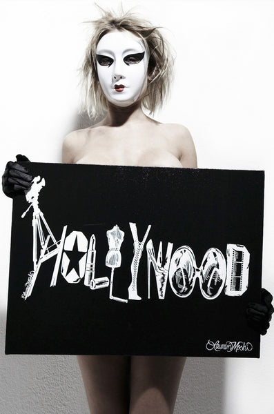 Canvas Hollywood Art - Lauren Moshi