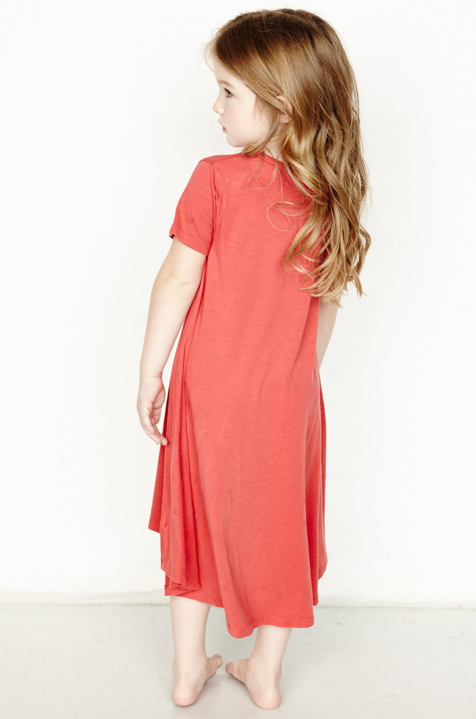 Beauty Color Record Short Sleeve Swing Dress - Lauren Moshi - 4