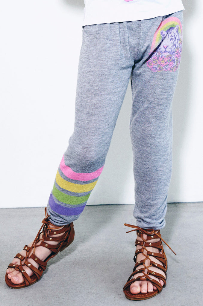Mouse Pretty Tiger Leg Sweatpants