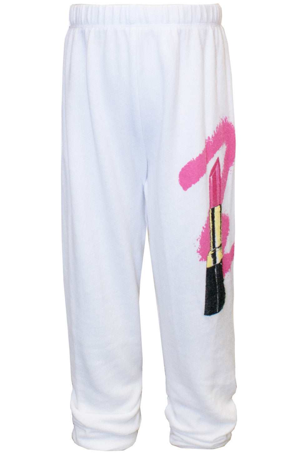 Mouse Color Lipstick Sweatpants W/ Elastic - Lauren Moshi - 2