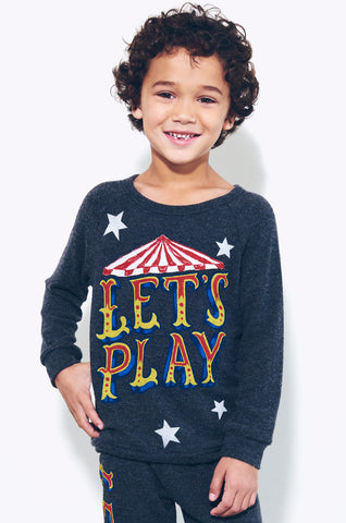 Lauren Moshi Kids Women's Rocky Let's Play Pullover